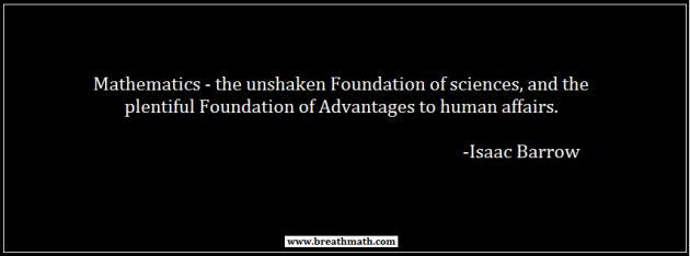 Mathematics - Advantages to human