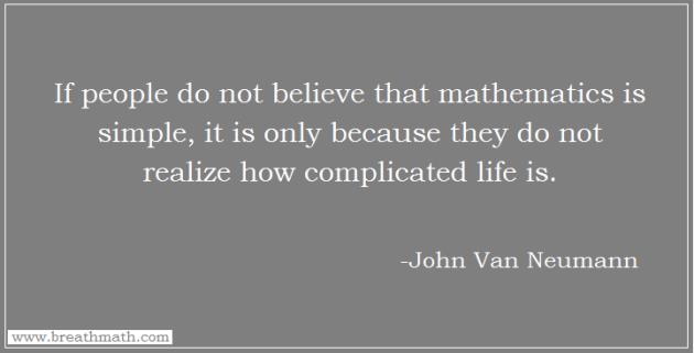 Mathematics and Life