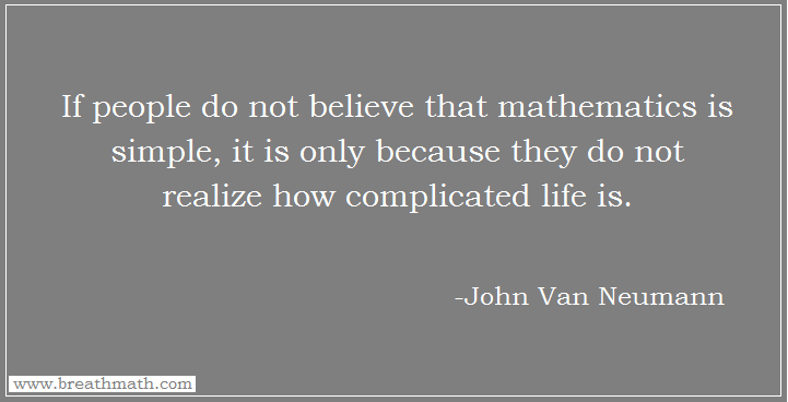 Mathematics and Life