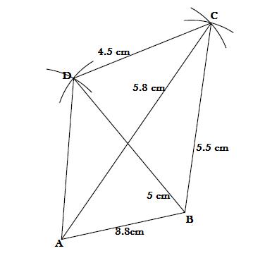 QUADRILATERALS - EXERCISE 4.2.3 - Class 9