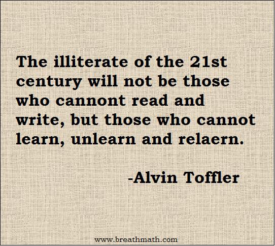 Illiterate of 21st century