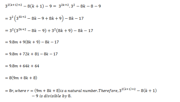 Principle of Mathematical Induction - Class XI - Exercise 4.1