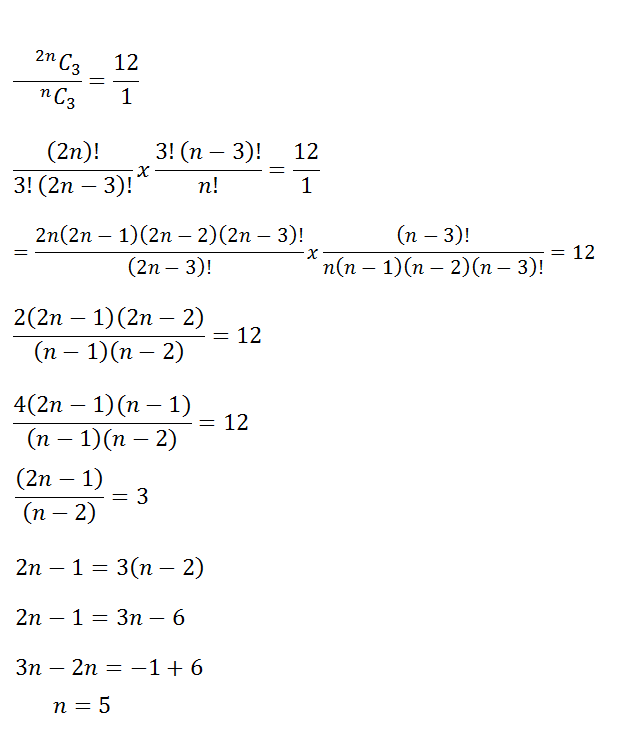 Permutation and Combination - Class XI - Exercise 7.4