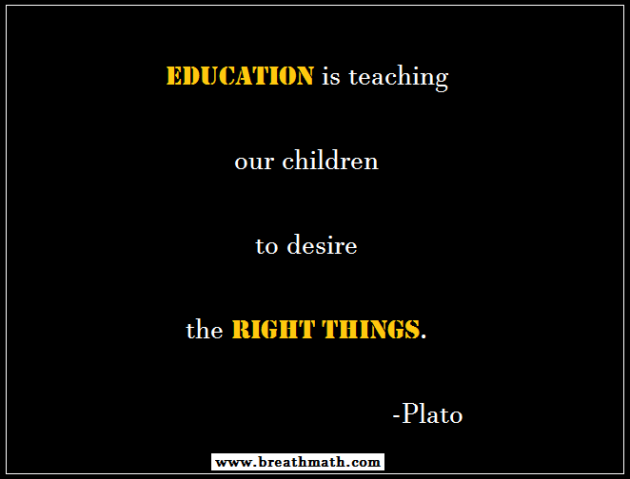 Value of Education