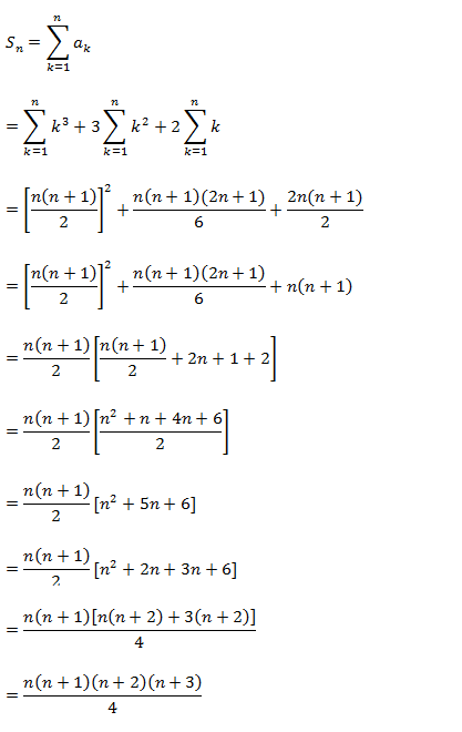 Sequences and Series – Exercise 9.4 – Class XI