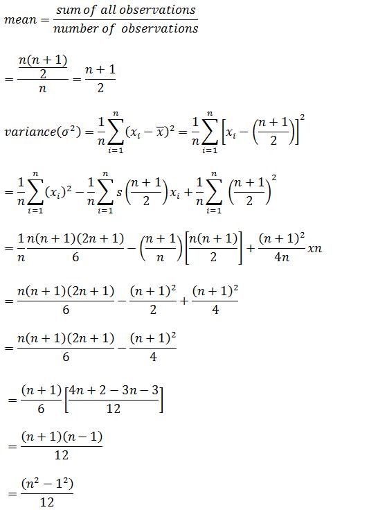 Statistics – Exercise 15.2 – Class XI