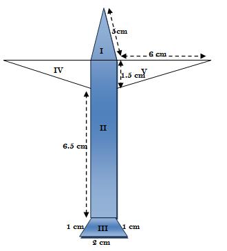 Herons formula - exercise 12.2 - class IX