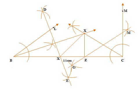 Construction - Exercise 11.2 – Class IX