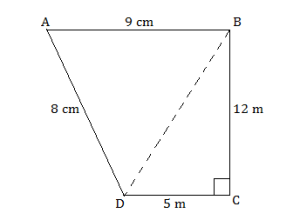 Heron's Formula - exercise 12.2. - CLass IX